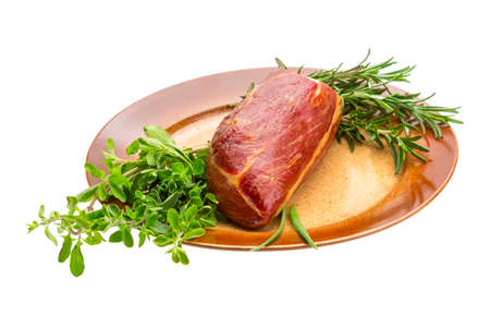 Smoked beef Stock Photo - 22677653