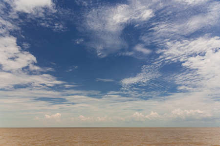 Tonle Sap lake in Cambodia photo