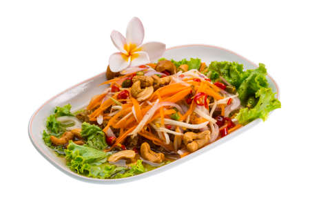 Thai Catfish salad photo