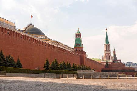lenin: Lenin Mausoleum on Red Square Moscow
