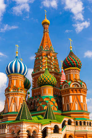 Saint Basil Temple in Moscow Red Square Stock Photo - 23373819
