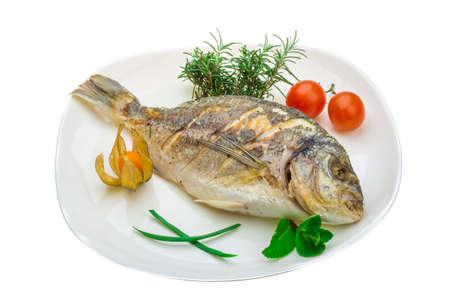 bass fish: Dorado grilled