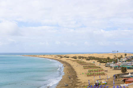 Ocean Coast in Maspalomas photo
