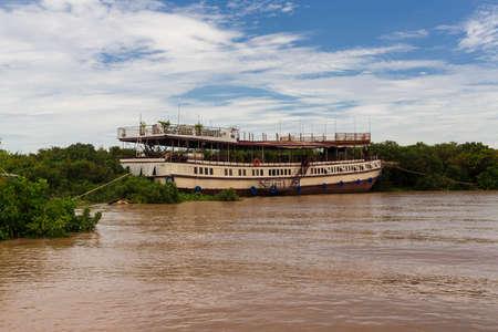 Tonle Sap lake in Cambodia photo