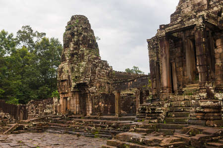 Angkor Wat - Cambodian famous hisotical complex photo