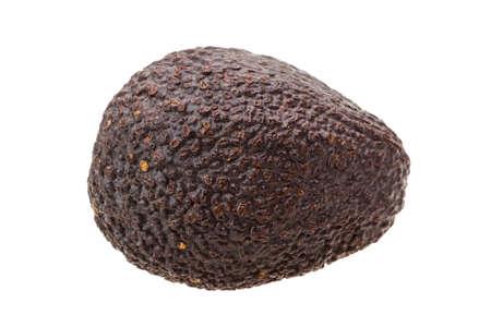 Ripe Avocado isolated photo