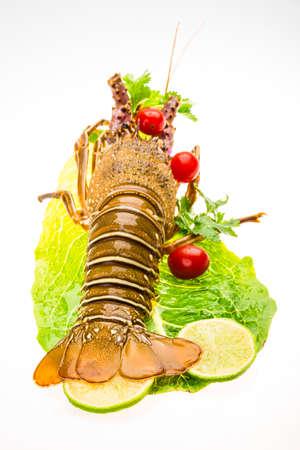 spiny: Raw spiny lobsters