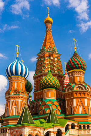 Saint Basil Temple in Moscow Red Square Stock Photo - 24005286