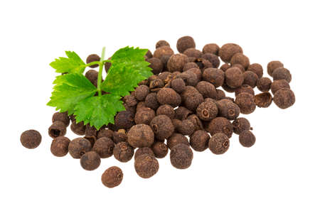 Black pepper isolated
