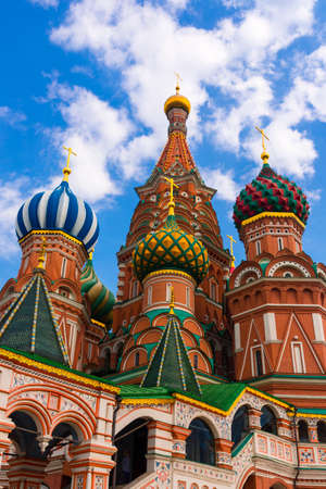 Saint Basil Temple in Moscow Red Square Stock Photo - 24655589