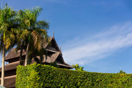 Nong Nooch tropical garden in Thailand photo