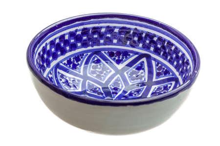 Empty ceramic bowl isolated Reklamní fotografie