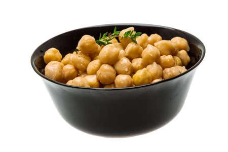 garbanzo bean: Chickpea in the bowl