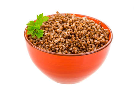 kasha: Buckwheat in the bowl