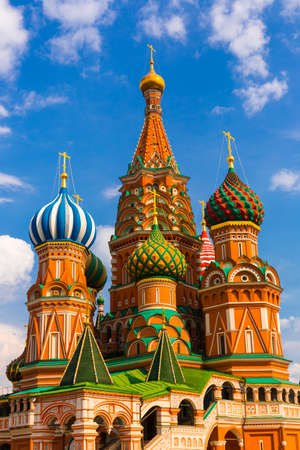 Saint Basil Temple in Moscow Red Square Stock Photo - 24961969