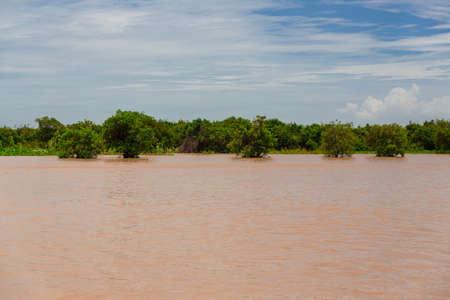 tonle sap: Tonle Sap lake in Cambodia