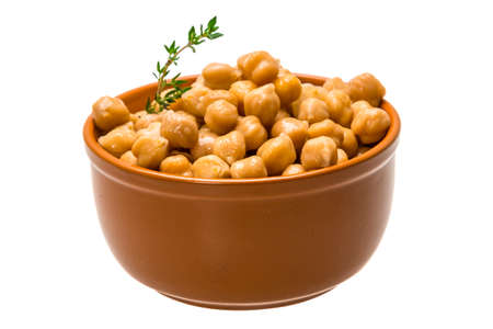 Chickpea in the bowl
