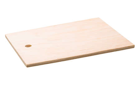 Wooden board isolated photo
