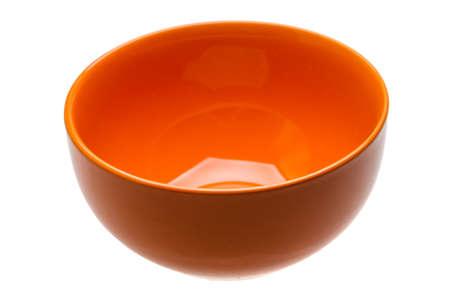 bol vide: Red empty bowl