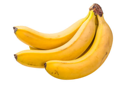 flesh colour: Banana isolated