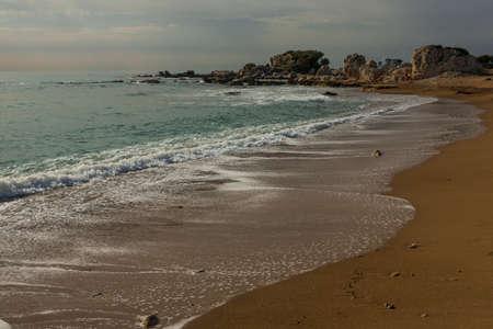 Sea coast in Turkey photo