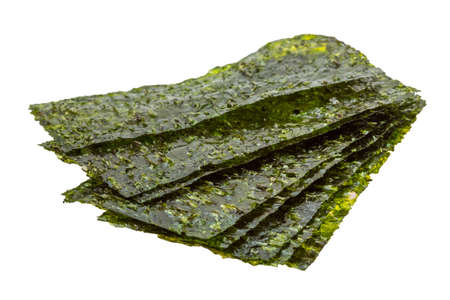 Nori sheets isolated photo