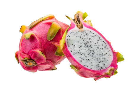 Ripe dragon fruit photo
