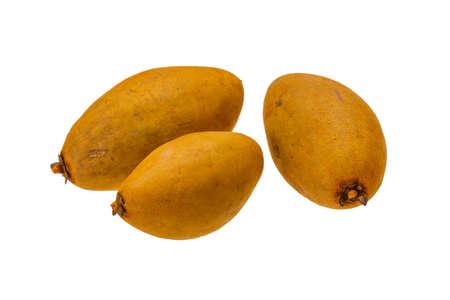 phosphorus: Sapodilla - thai fruit Stock Photo