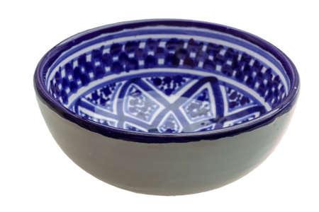 bol vide: Blue empty bowl