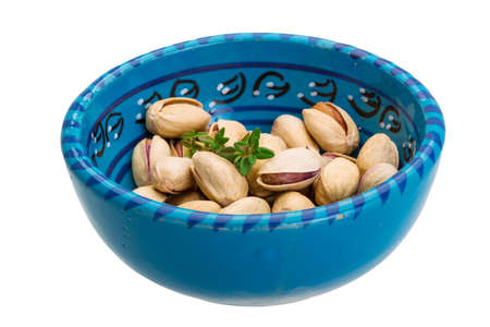Pistachio isolated photo