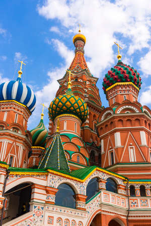 Saint Basil Temple in Moscow Red Square Stock Photo - 25875292
