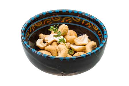 Cashew nut isolated photo