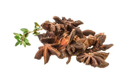 badian: Star-anise and thyme
