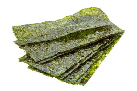 Nori feuilles isolées Banque d'images - 26194214