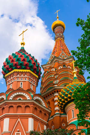 Saint Basil Temple in Moscow Red Square Stock Photo - 26260793