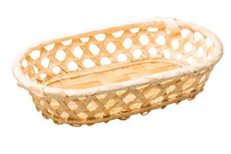 Wooden basket photo