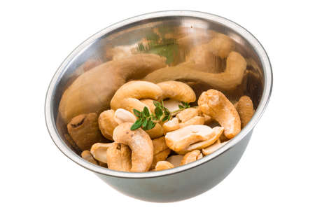 Cashew nut isolated photo