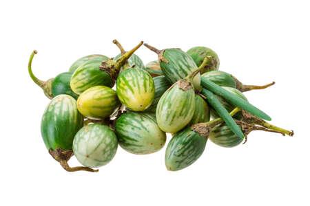 brinjal: Asian eggplant Stock Photo