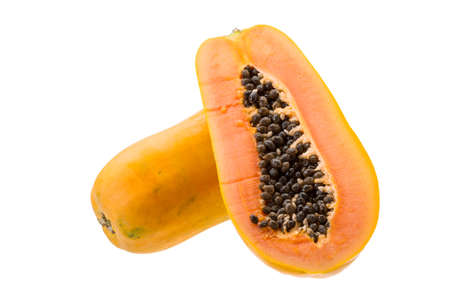 Sliced papaya photo