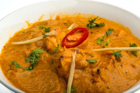 Butter chicken - indian traditional cuisine photo