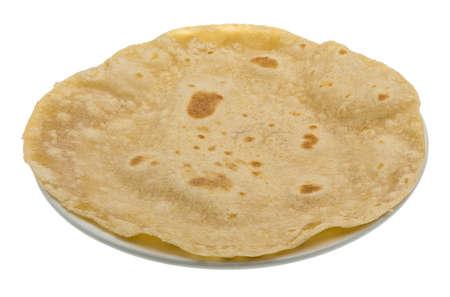 atta: Chapati - pane tradizionale fatto a mano indiano Archivio Fotografico