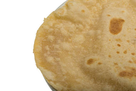 Chapati - traditional indian handmade bread photo