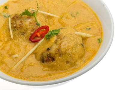 malai: Malai kofta - vegetarian indian food with potato