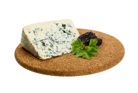 roquefort: Blue cheese on the desk