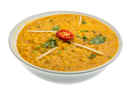 Daal Curry - traditional Indian food photo