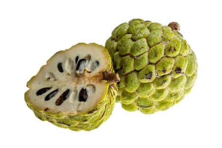 noni fruit: Asian famous Noni fruit isolated