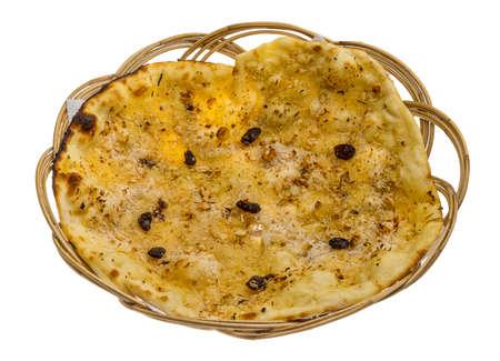 naan: Pishwary naan - Indian traditional bread Stock Photo