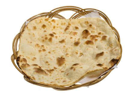 naan: Plain Naan - Indian traditional cuisine