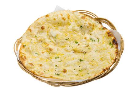 naan: Onion naan - traditional indian bread