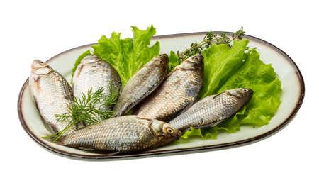 crucian: Raw Crucian fish - ready for cooking